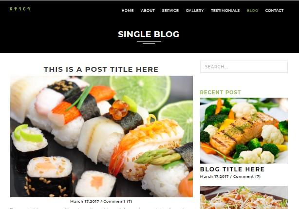 affeine v1.7.1 – Responsive WordPress Theme