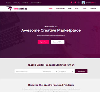 SquareCode v2.7.0 – Marketplace for Easy Digital Downloads