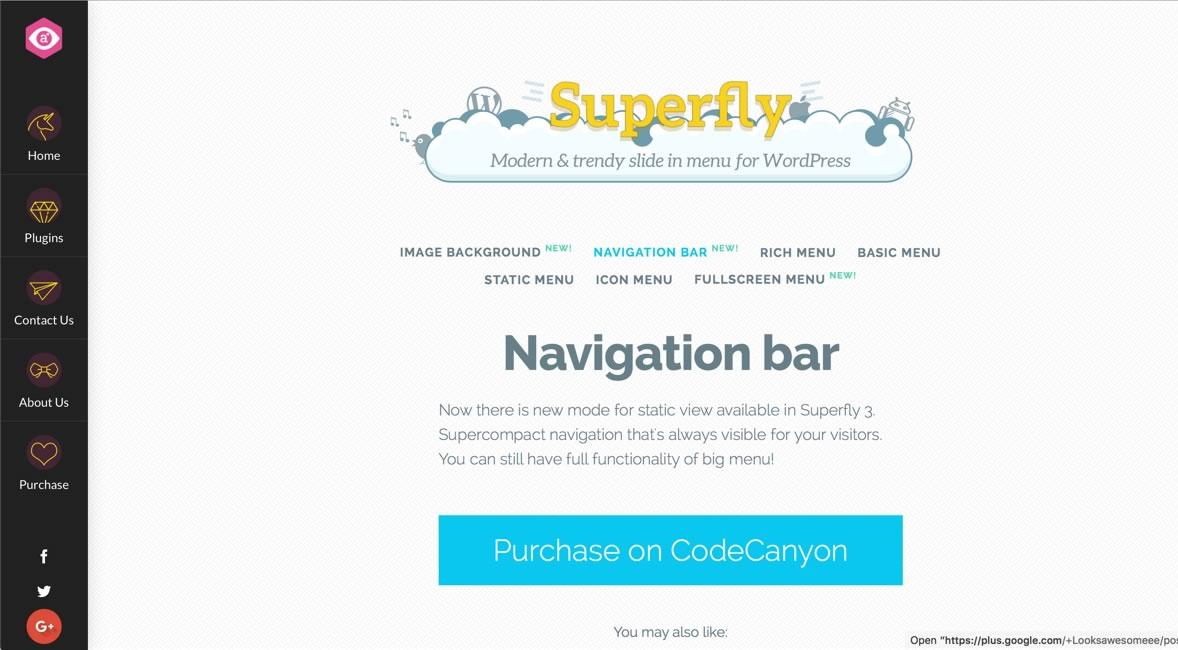 Superfly v4.1.3 — Responsive WordPress Menu Plugin