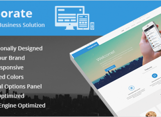 Corporate v1.2.7 – Ultimate Business WordPress Theme